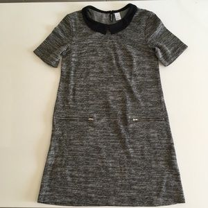 H&M Peter Pan collar shift dress xs-s 6